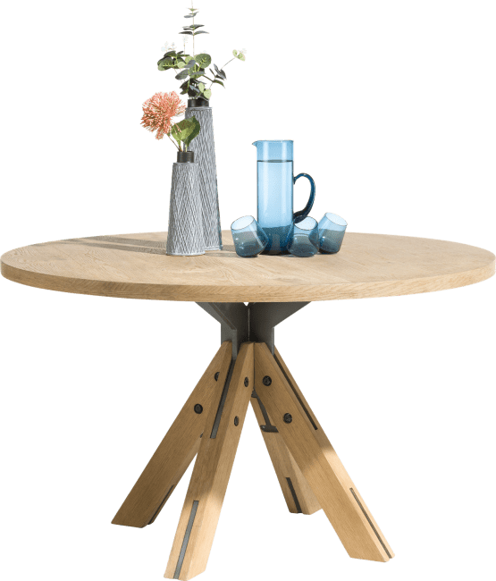 Table A Manger 130 Cm: Jardino, Table Ronde 130 Cm
