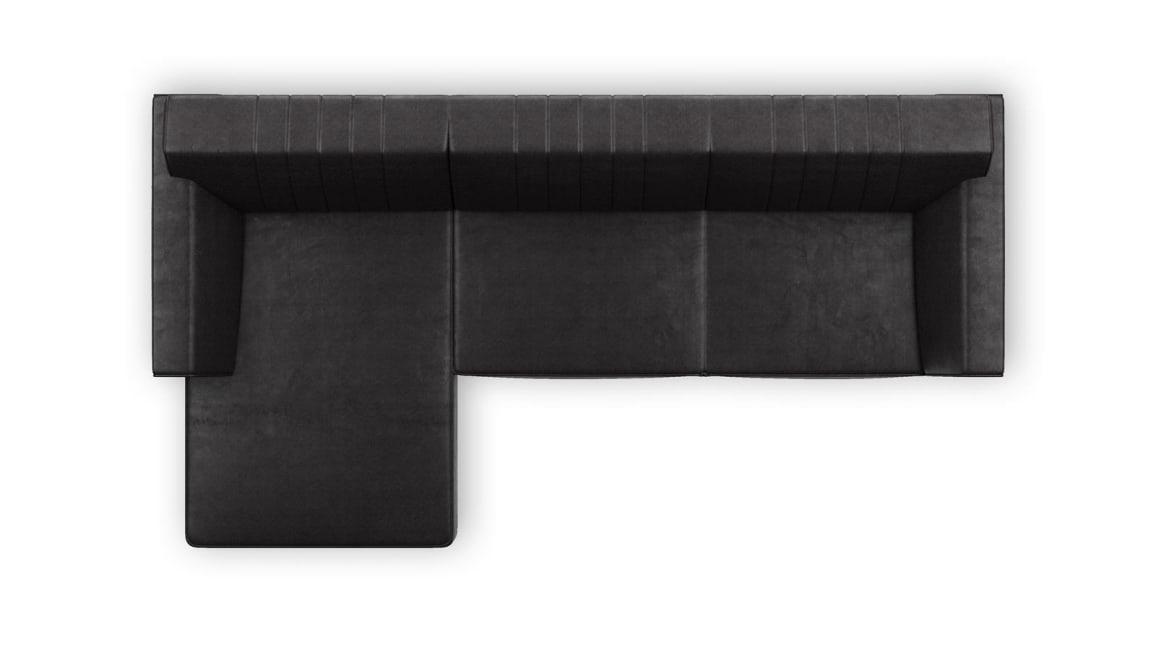 Zembla - 2,5-sitzer + longchair links