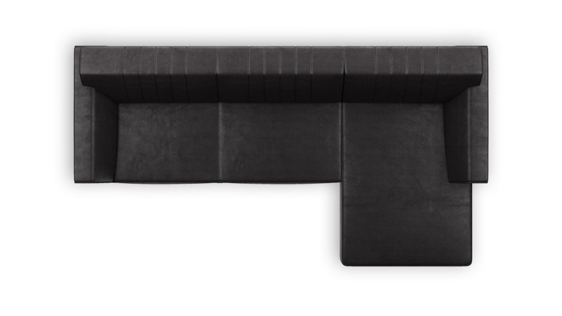 Zembla - 2,5-sitzer + longchair rechts