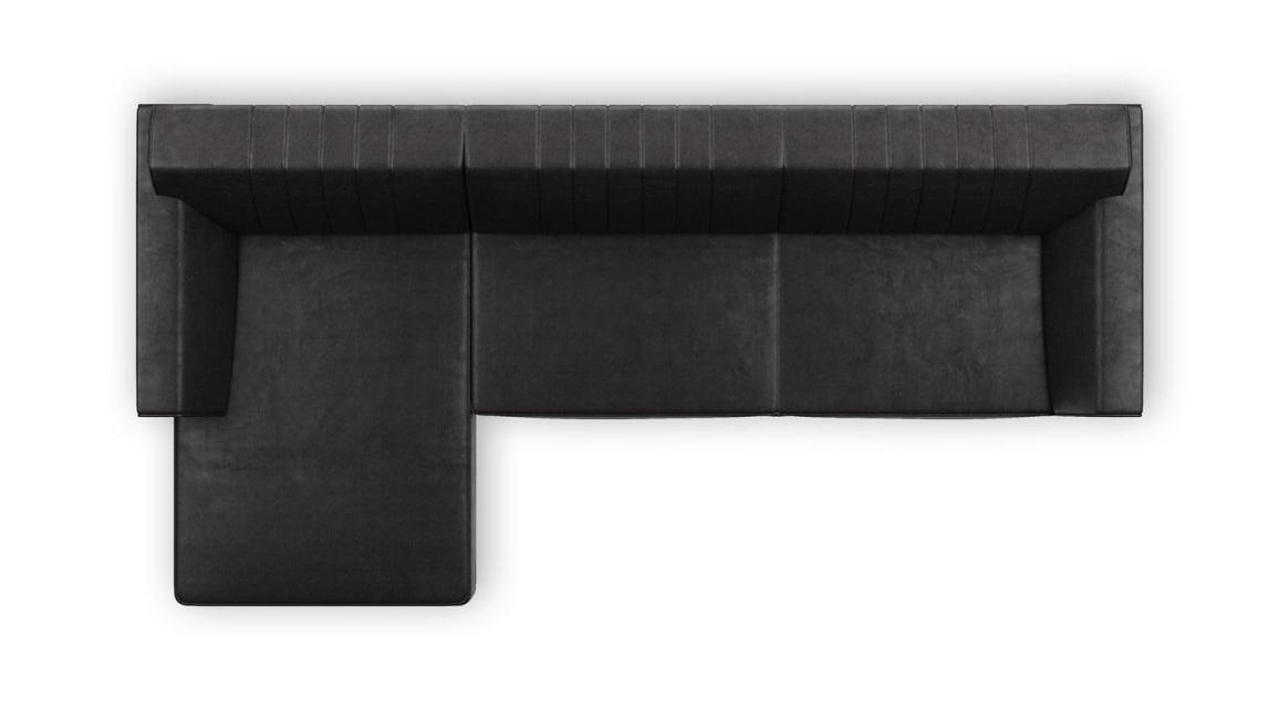 Zembla - 3-sitzer + longchair links
