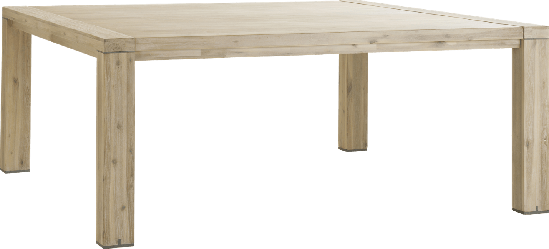 Buckley - uitschuiftafel 160 (+ 50 cm) x 140 cm