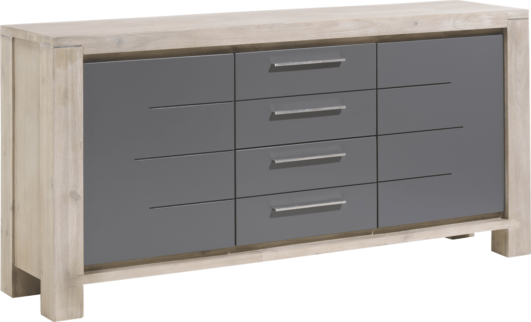 Multiplus - sideboard 180 cm - 2-tueren + 2-laden