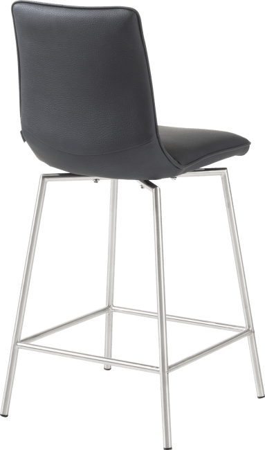 Davy - barchair stainless steel + moreno