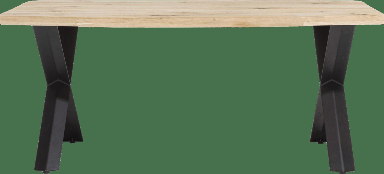 Eetkamer Tafel Hout.Maddox Eetkamertafel 190 X 100 Cm Hout X Poot