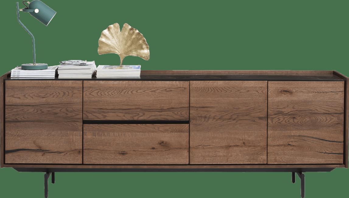 Halmstad - sideboard 230 cm - 3-doors + 2-drawers