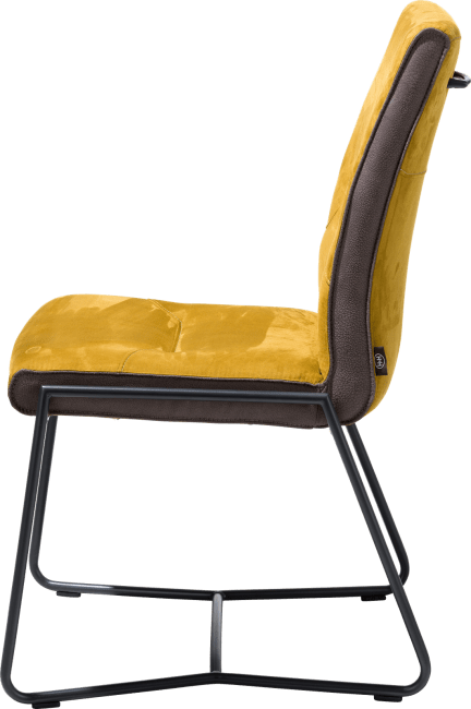 Donna - chaise - cadre off black