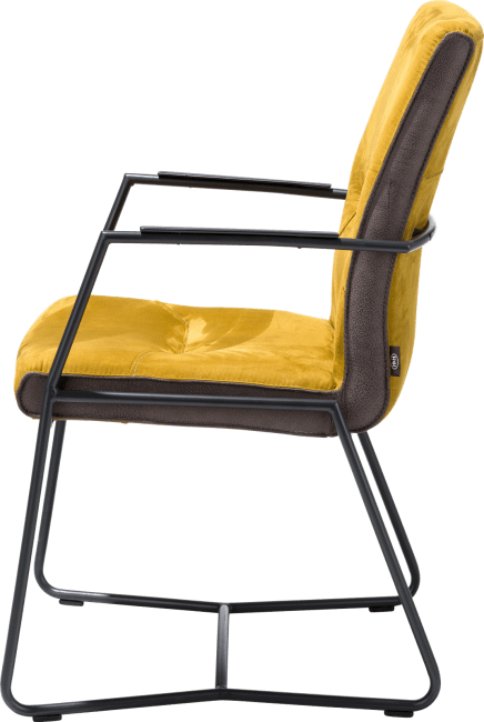 Donna - fauteuil - cadre off black