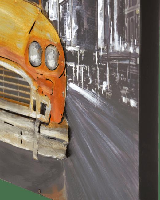 Coco Maison - peinture ny cab - 100 x 100 cm
