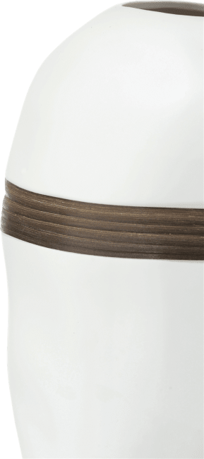Coco Maison - vase cerro - hauteur 40 cm - blanc