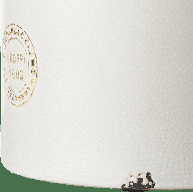 Coco Maison - vaas ani h43cm wit keramiek