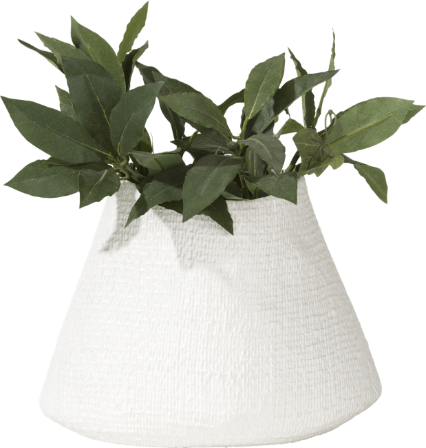 Coco Maison - bloempot living large - wit