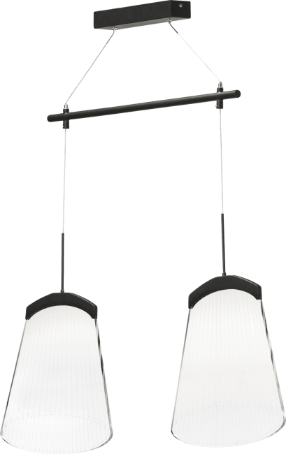Coco Maison - neyo, suspension 2-ampoules - led inclus