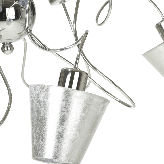 Coco Maison - sivan, haengelamp 8-flammig (led)