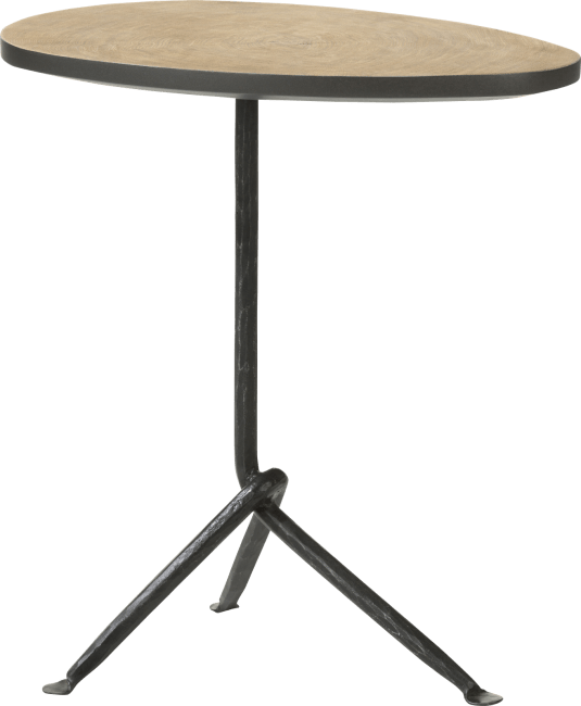 Coco Maison - table d'appoint mojave - chene - 43 x 31 cm