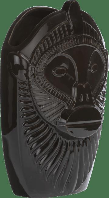 Coco Maison - vaas monkey large - zwart