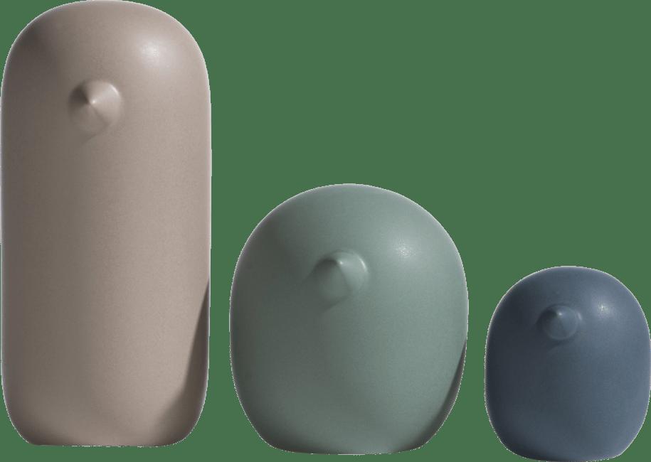 Coco Maison - beeld birds - set van 3
