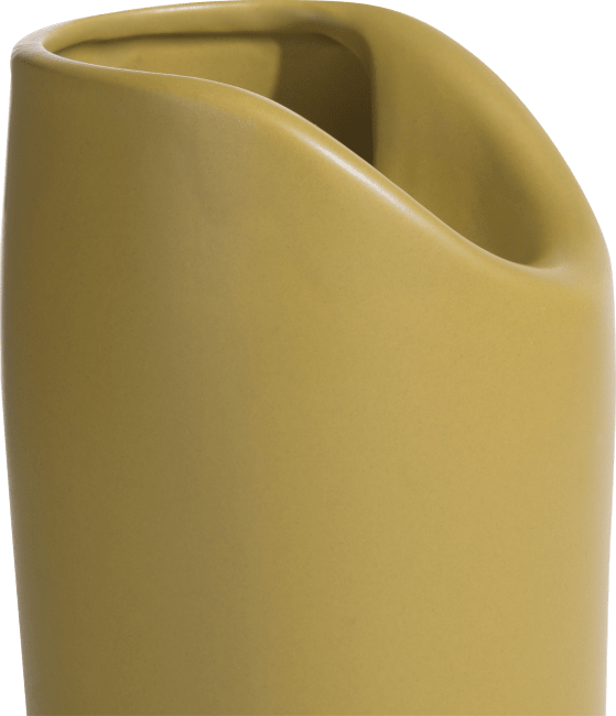 Coco Maison - vaas pocket large - geel