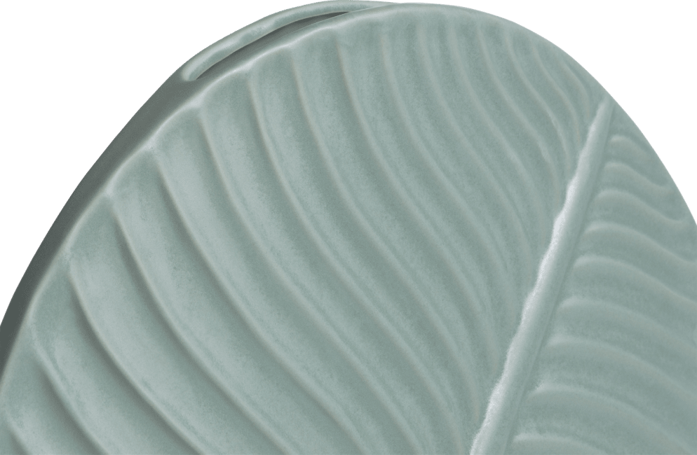Coco Maison - vaas banana leaf large - groen