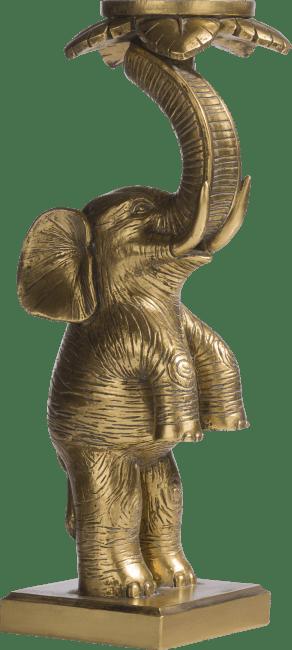 Coco Maison - kaarsenhouder elephant - goud