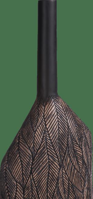 Coco Maison - vaas margot xl - bruin - hoogte 69 cm