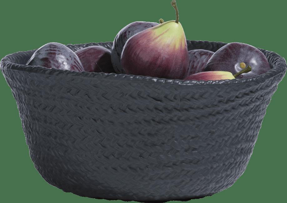 Coco Maison - schaal ella medium - zwart