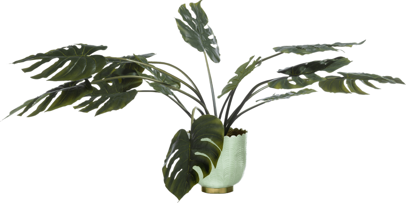 Coco Maison - schale agata - aluminium - mint