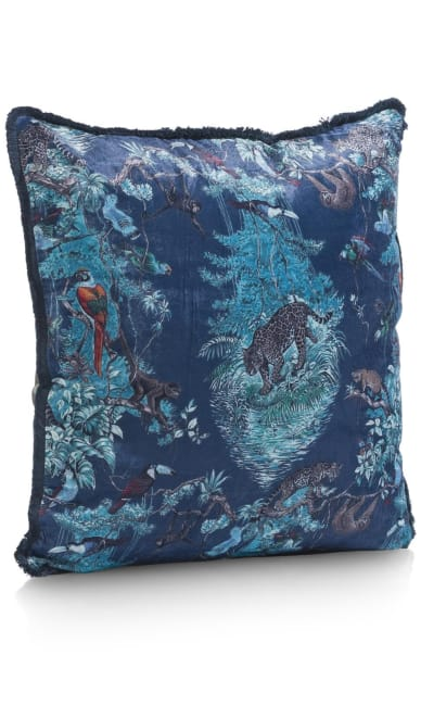 Coco Maison - coussin tiger jungle - 45 x 45 cm
