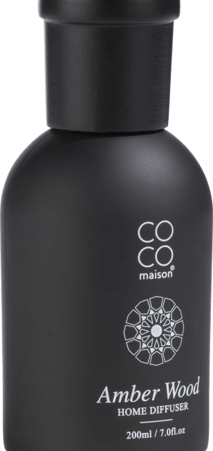 Coco Maison - duftstaebchen large amber wood - 200 ml