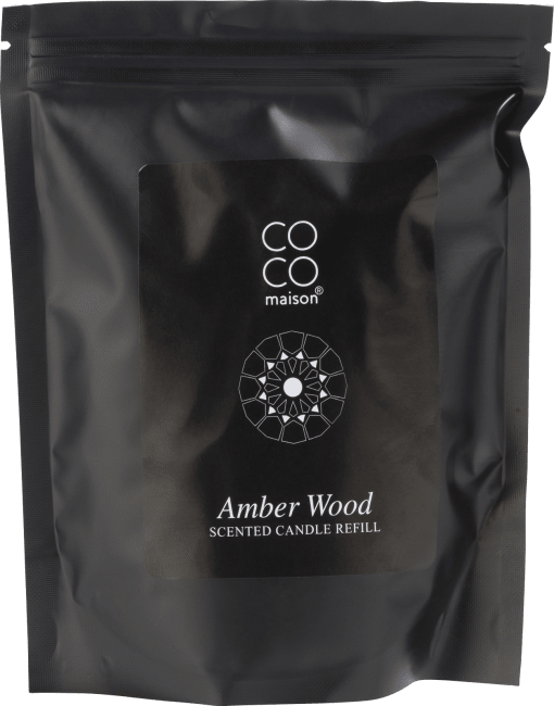Coco Maison - refiller scented candle amber wood