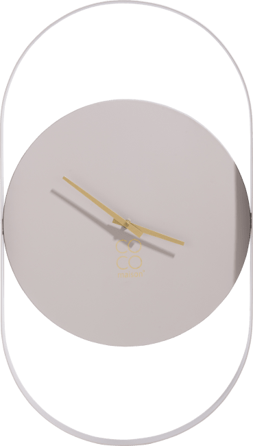 Coco Maison - wandklok jayden - 70 x 40 cm