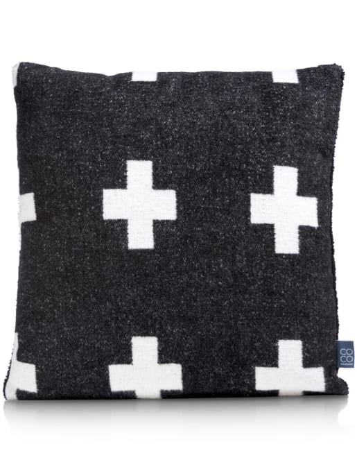 Coco Maison - cushion cross - 45 x 45 cm