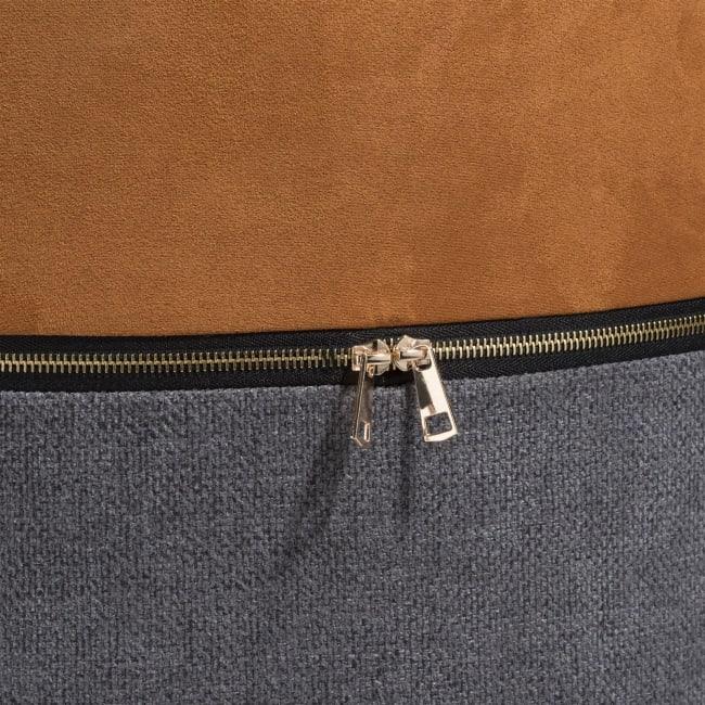 Coco Maison - pouf zip-it - orange