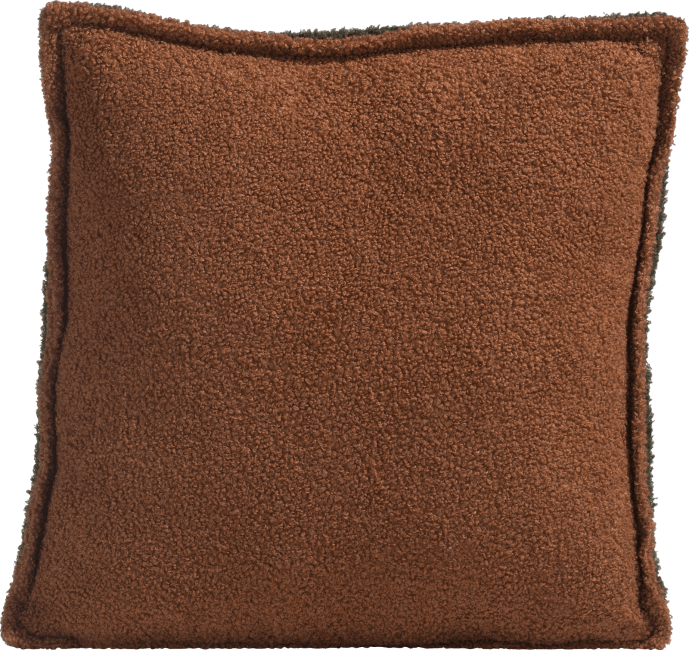 Coco Maison - coussin fluffy orange - 45 x 45 cm