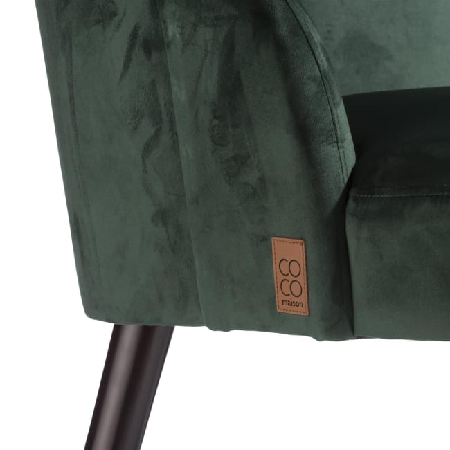 Coco Maison - fauteuil raya - groen