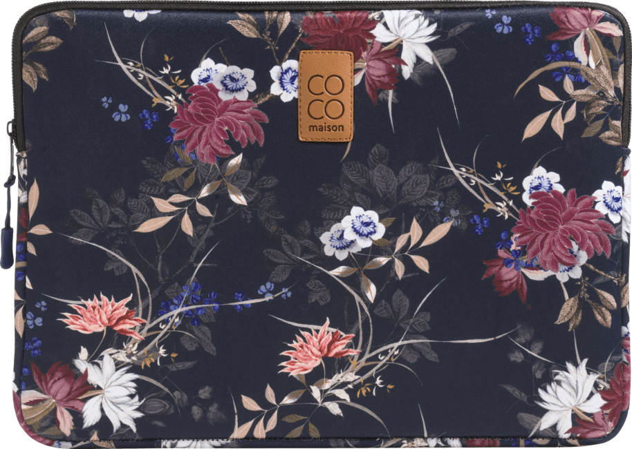 Coco Maison - laptop-huelle gross - blumendruck