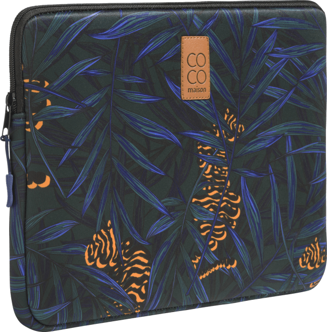 Coco Maison - laptop-huelle gross - tigerdruck