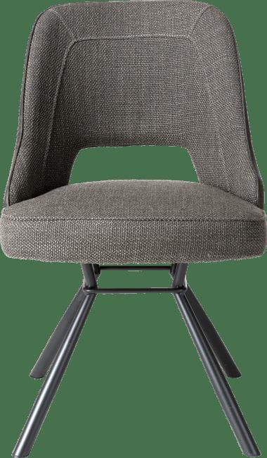 Chris - chaise - cadre noir +ressorts ensaches +poignee noir rond-secil/vito