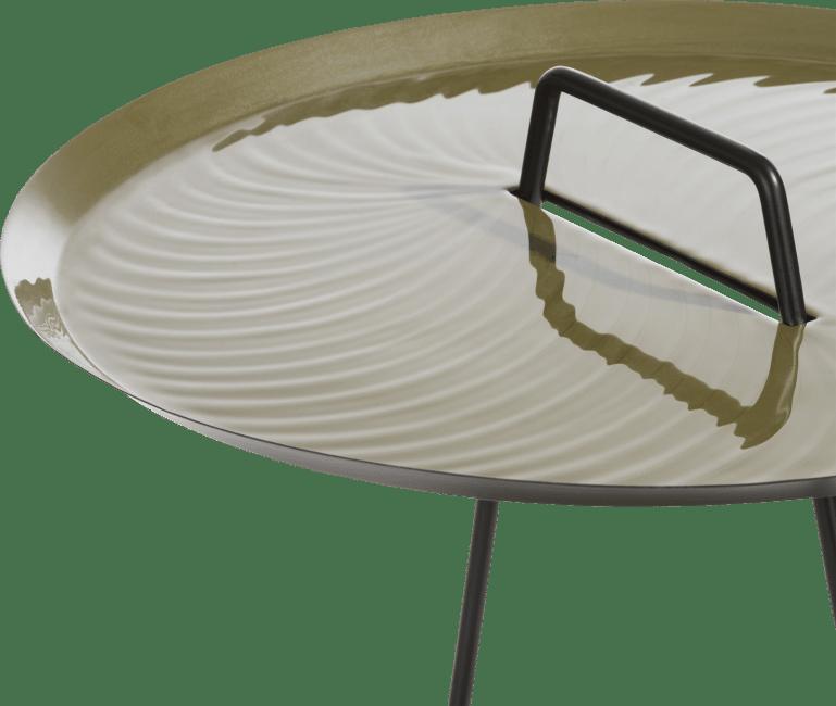 Coco Maison - table d'appoint melbourne - 45 x 52 cm - vert