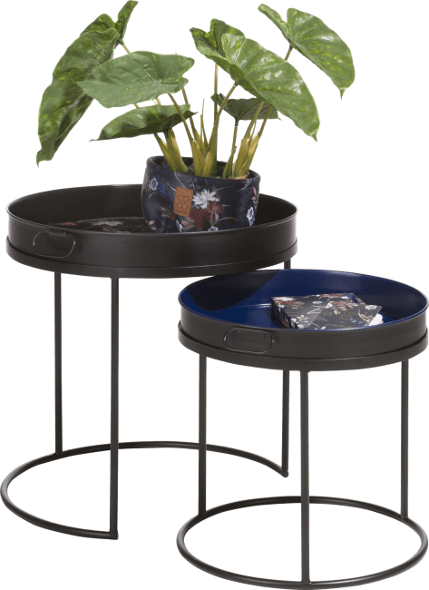 Coco Maison - 2 tables d'appoint baltimore - multicouleur
