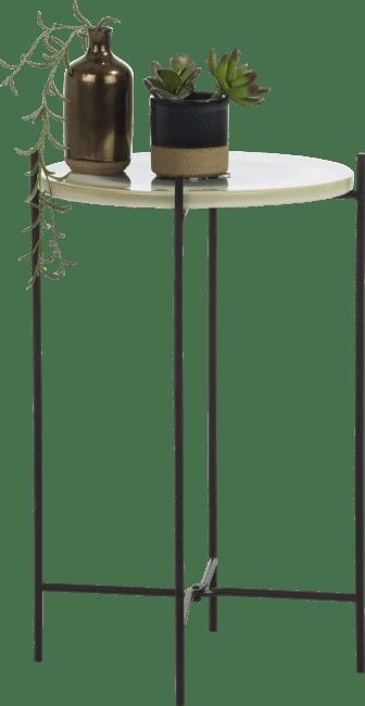 Coco Maison - bijzettafel eva - 30 x 30 cm - multicolour