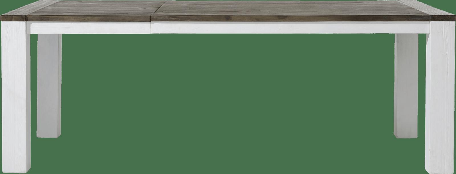 Deaumain - uitschuiftafel 160 (+ 60) x 100 cm