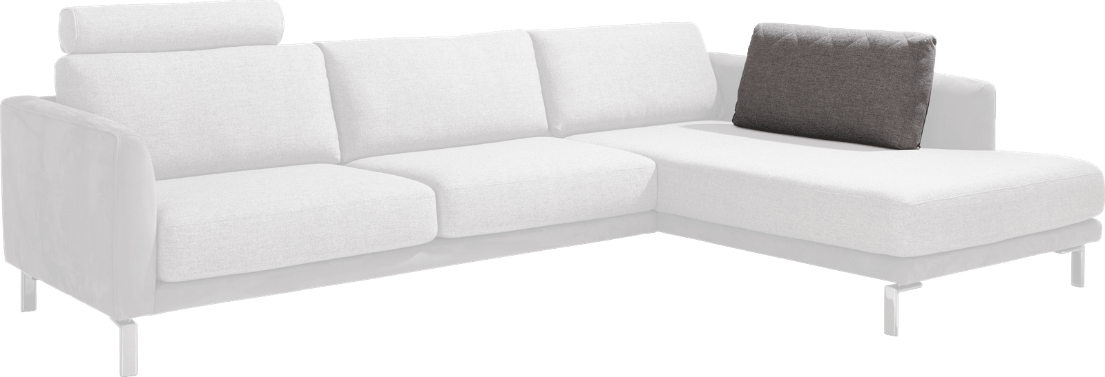 Vigo - ruckenkissen fuer longchair - 60 cm