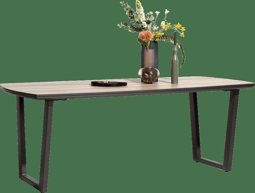 Copenhagen - table 210 x 98 cm. - pied forme v