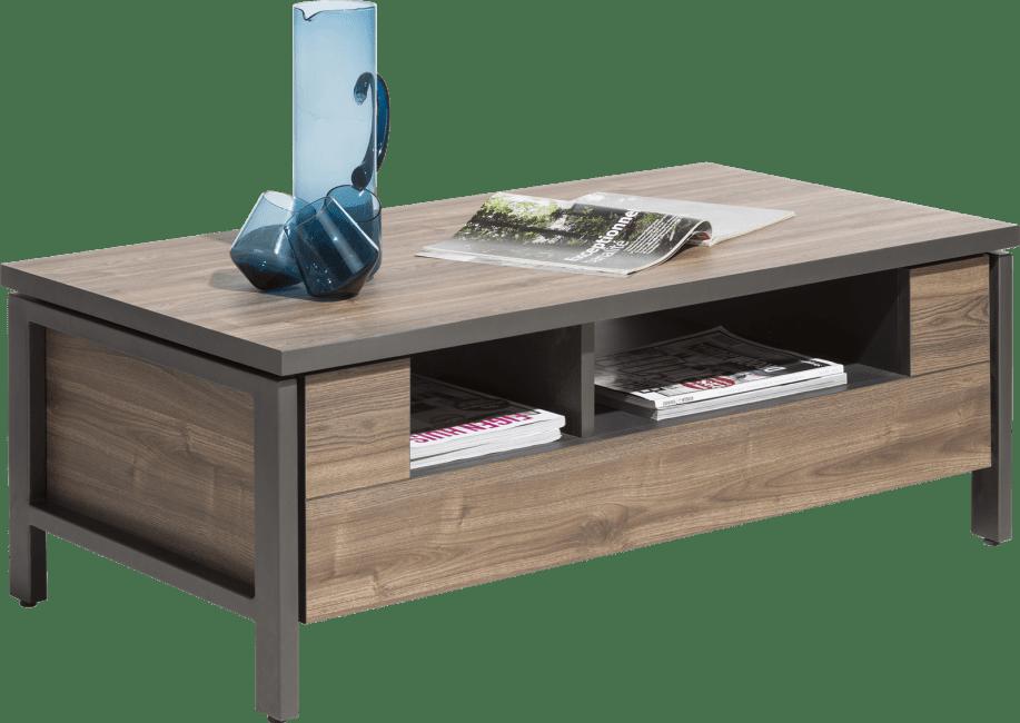 Madeira - salontafel 110 x 60 cm + 1-niche