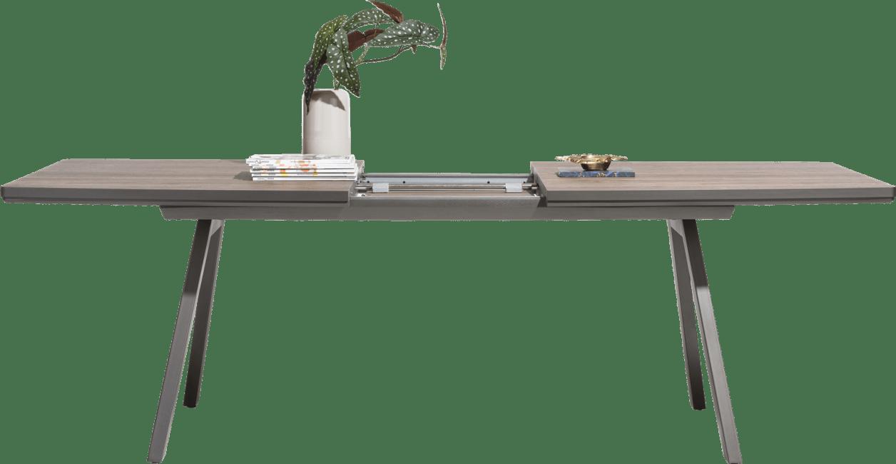 Madeira - uitschuiftafel 190 (+ 50) x 98 cm