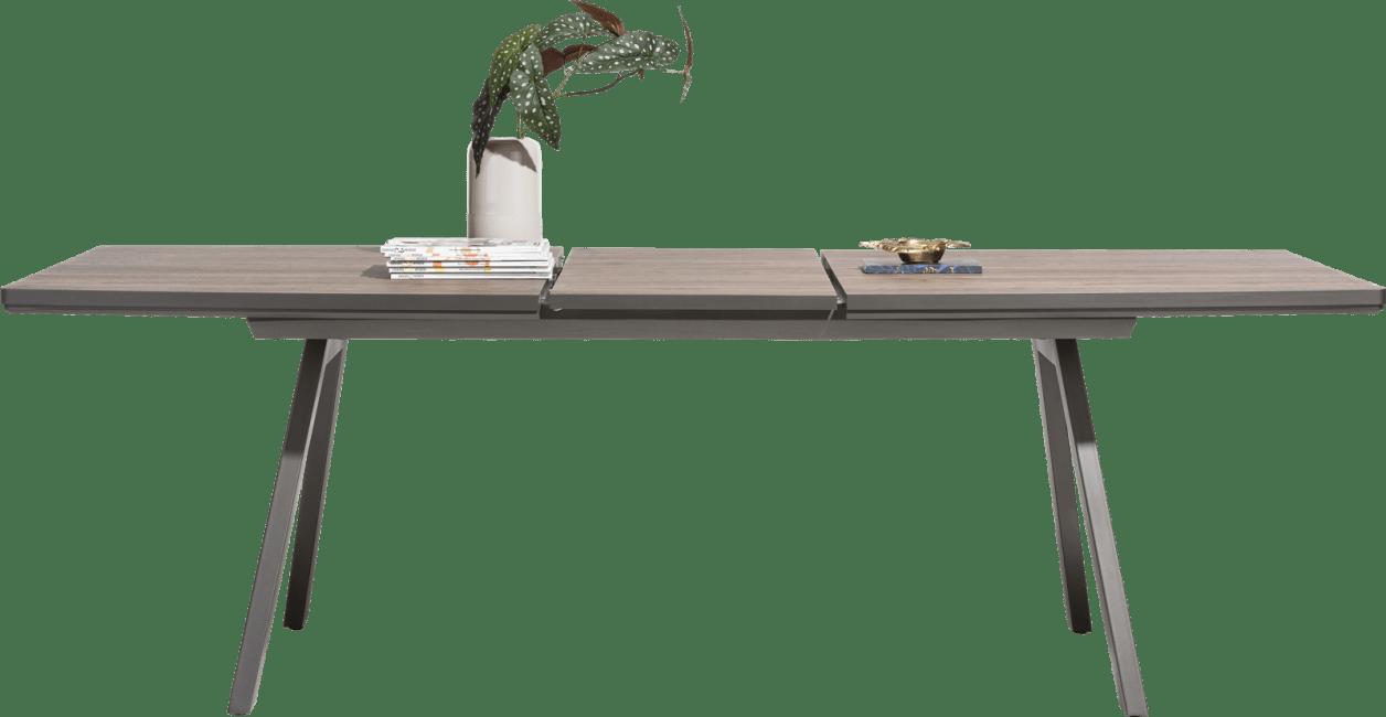 Madeira - uitschuiftafel 160 (+ 50) x 98 cm