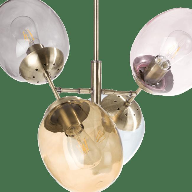 Coco Maison - brandon, lustre 4-ampoules (e27)