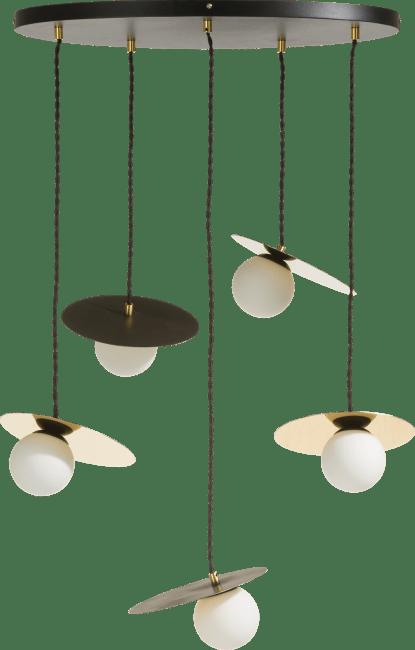 Coco Maison - jonah, lustre 5-ampoules (g9)