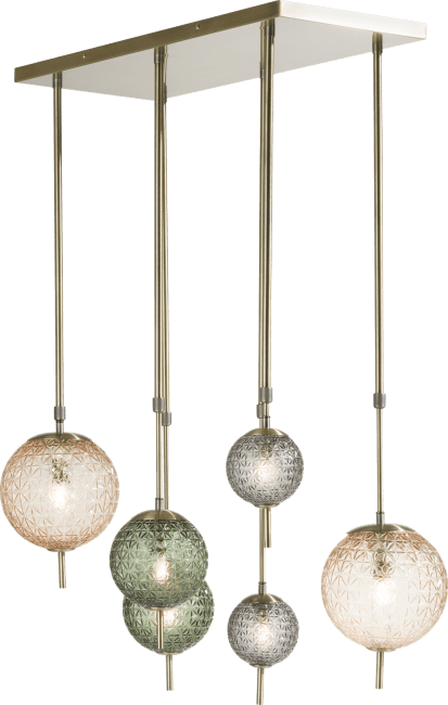 Coco Maison - erez, haengelampe 6-flammig