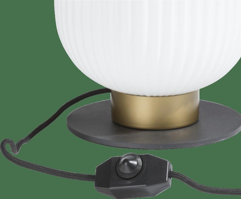 Coco Maison - david, lampe a poser 1-ampoule (haut)
